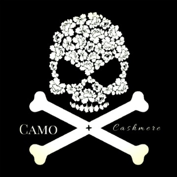 My logo design for CAMO + cashmere and my silly love for skulls and all things pretty. -