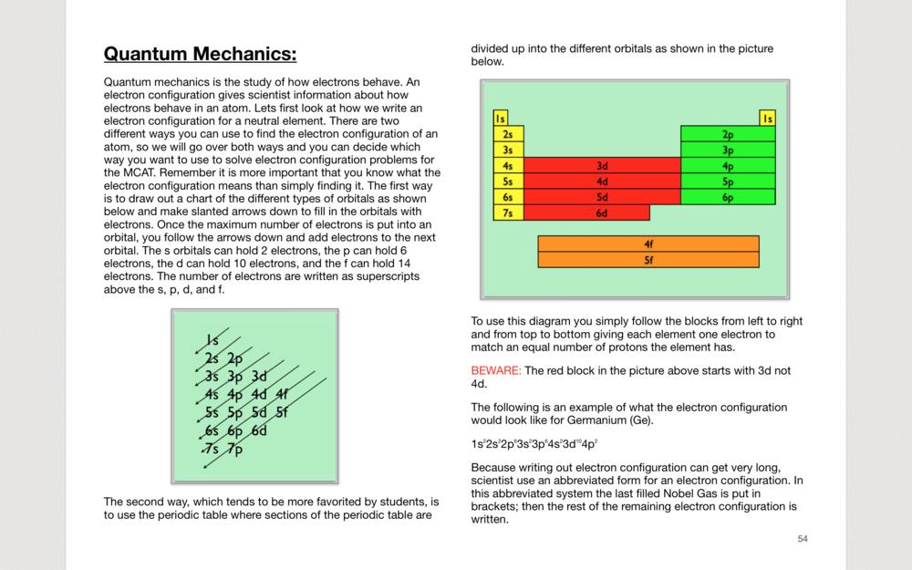 Interactive MCAT Book
