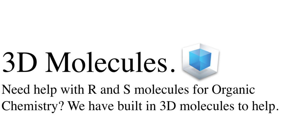 MCAT Test Prep | 3D Molecules