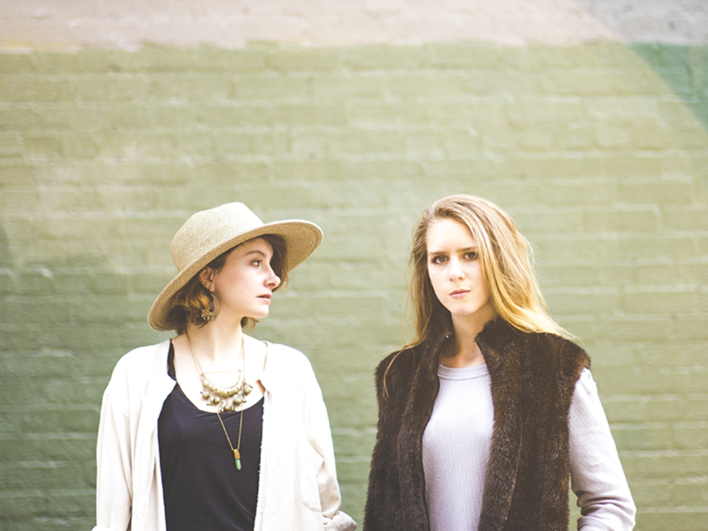 «Dans la peau de…» Lydia Képinski et Laura Babin / Morgane De Capèle