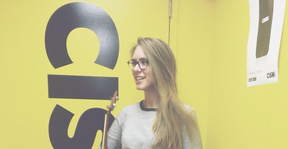 Entrevue + perfo live à l'émission Rebelles Soniques / Annie Calamia