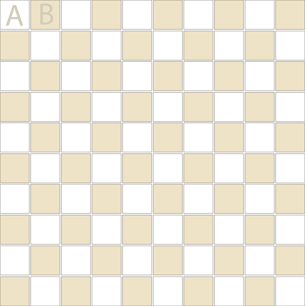 "Square 1""x1""  TMK-11 (1 sheet)"
