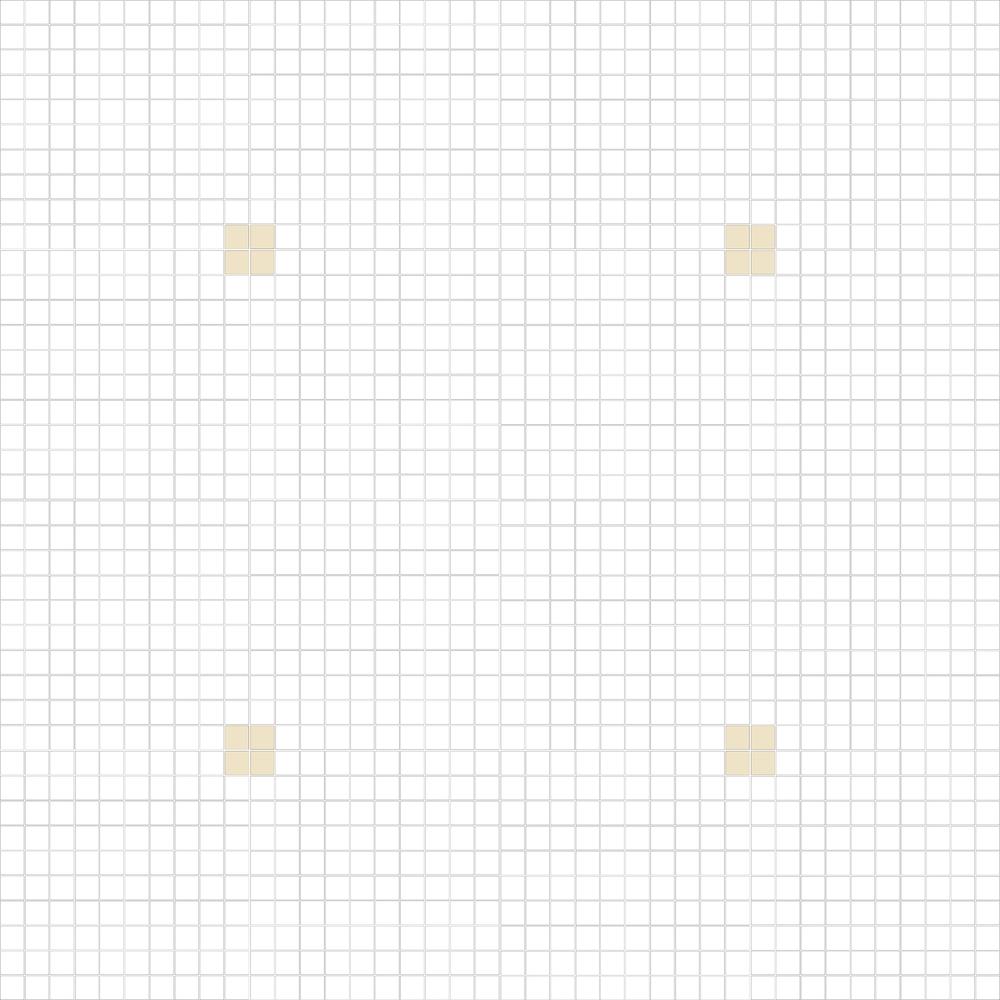 """Square 1""""x1""""  TMC-11 (16 sheets)"""
