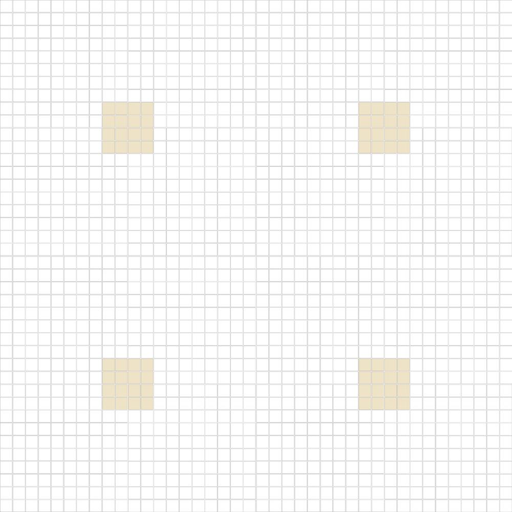 """Square 1""""x1""""  TMC-12 (16 sheets)"""