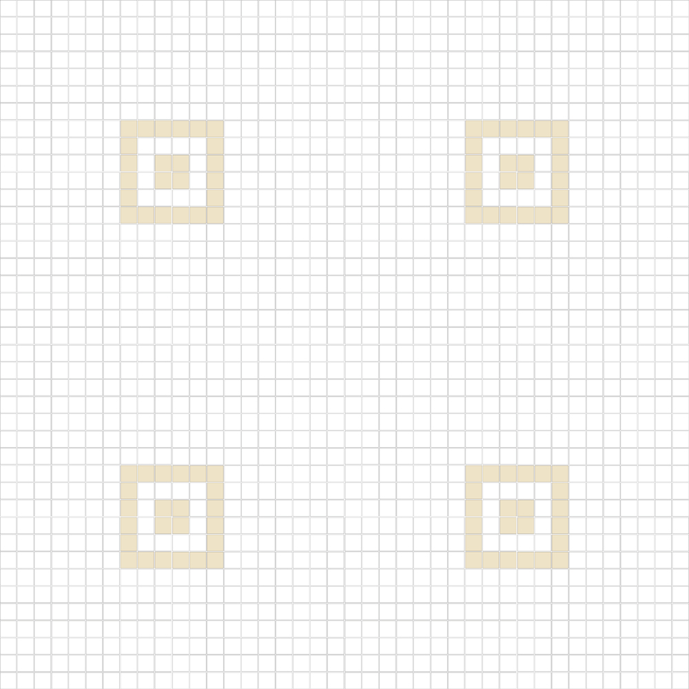 """Square 1""""x1""""  TMC-14"""