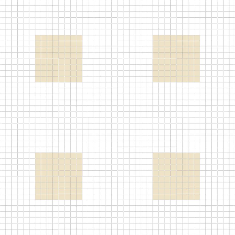 """Square 1""""x1""""  TMC-15 (16 sheets)"""