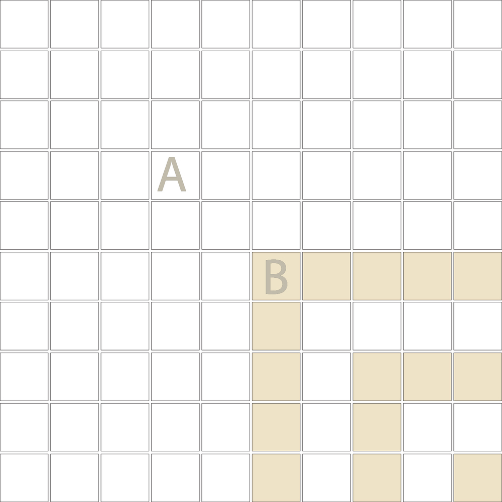 """Square 1""""x1""""  TMC-18 (1 sheet)"""