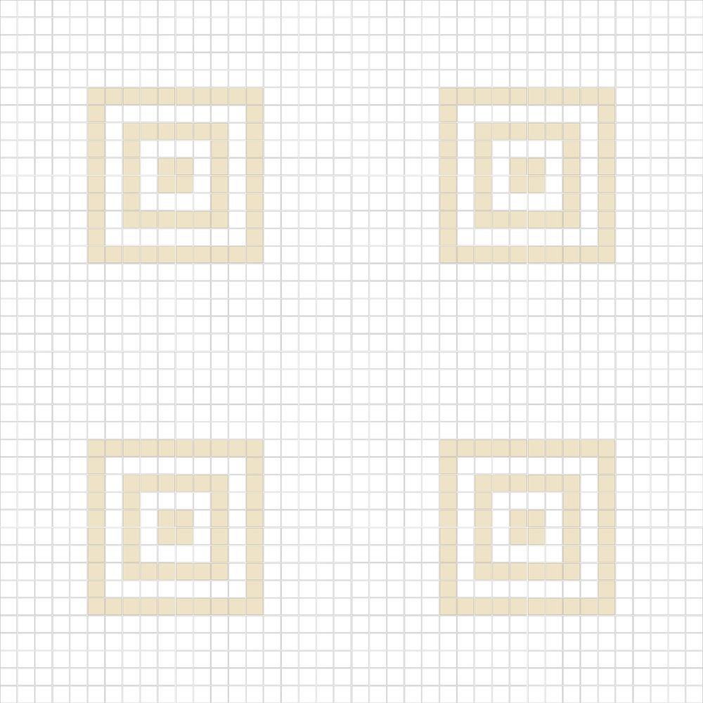 """Square 1""""x1""""  TMC-18 (16 sheets)"""