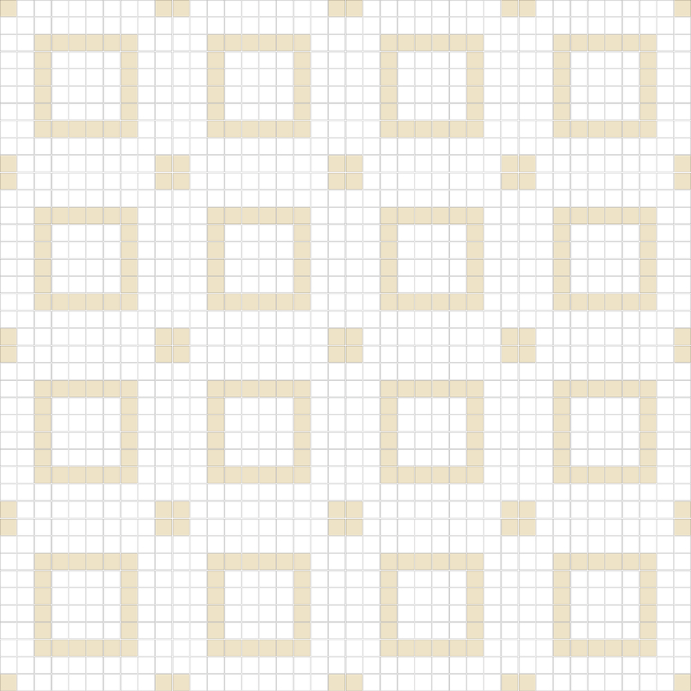"Square 1""x1""  TMR-13 (16 sheets)"