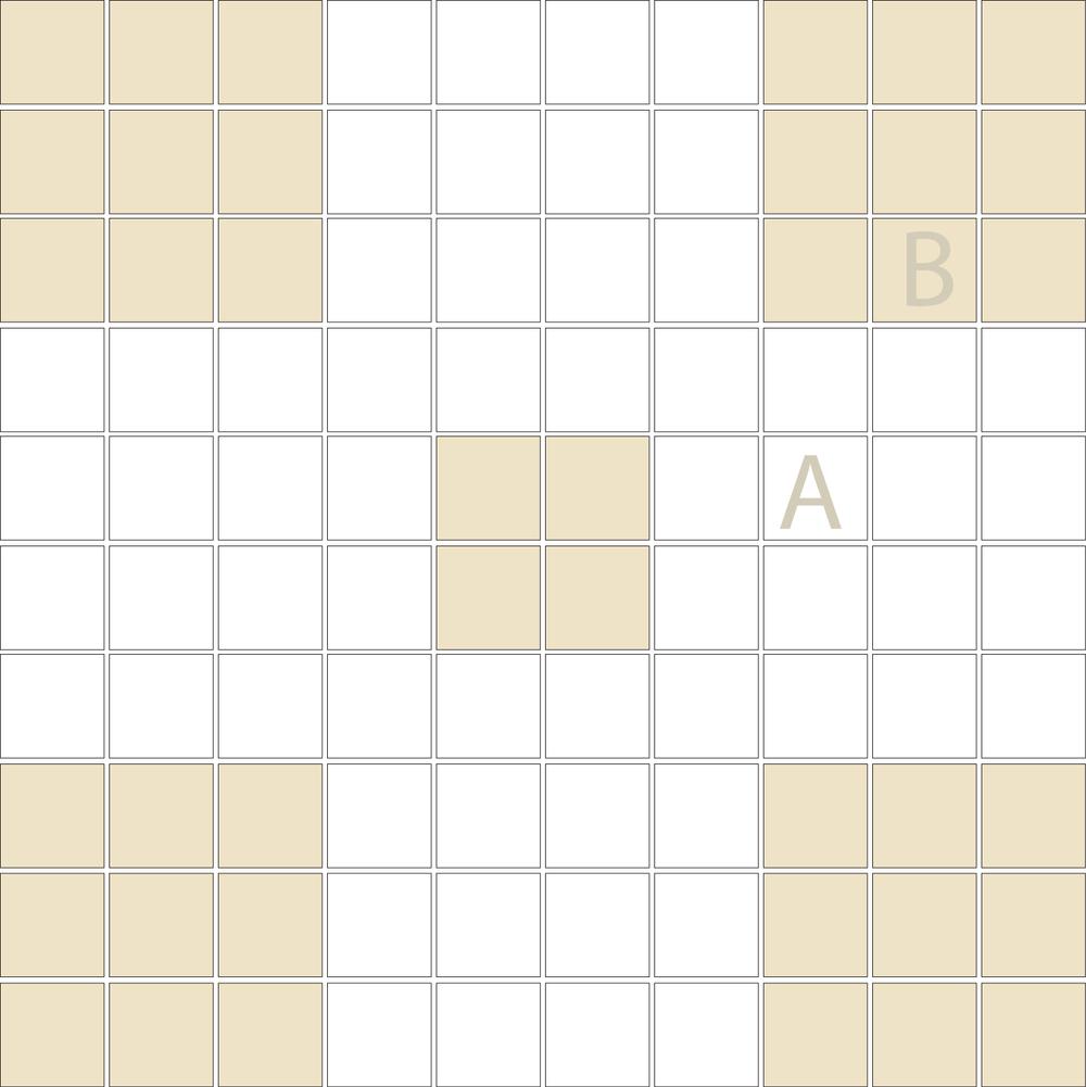 "Square 1""x1""  TMR-21 (1 sheet)"
