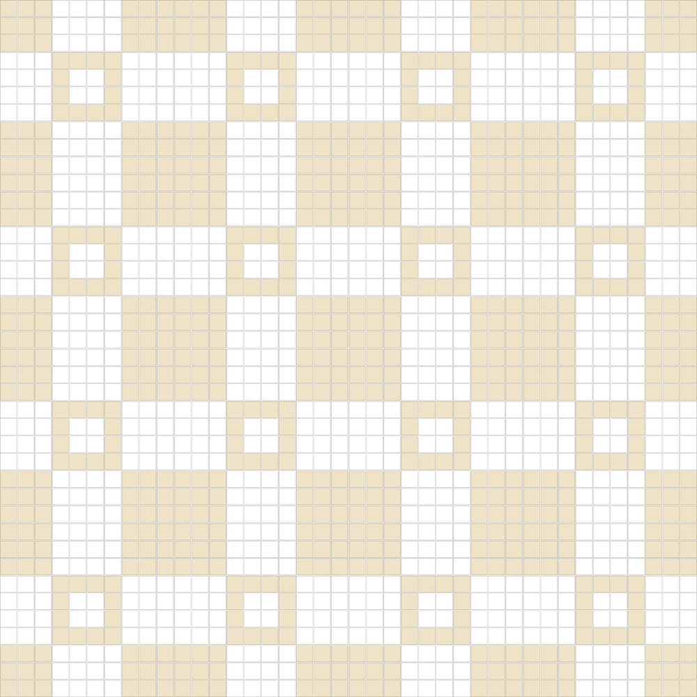 "Square 1""x1""  TMR-22 (16 sheets)"