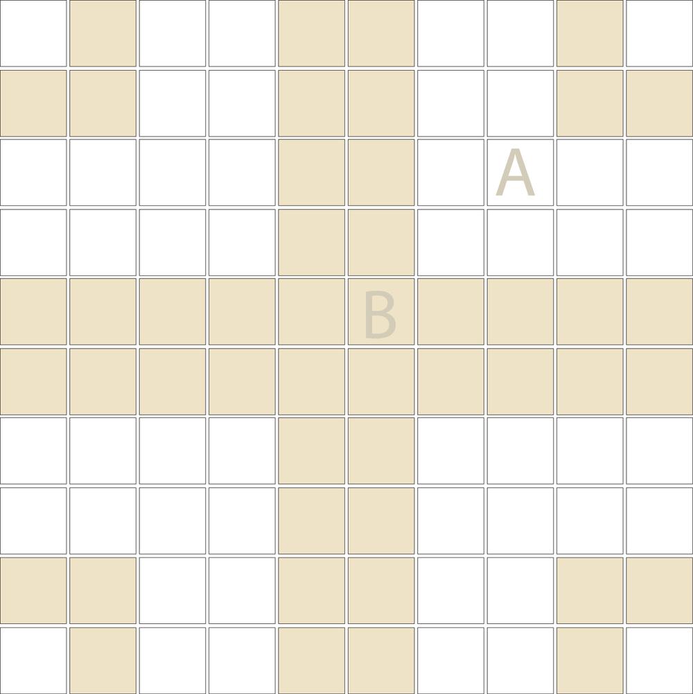 "Square 1""x1""  TMR-33 (1 sheet)"