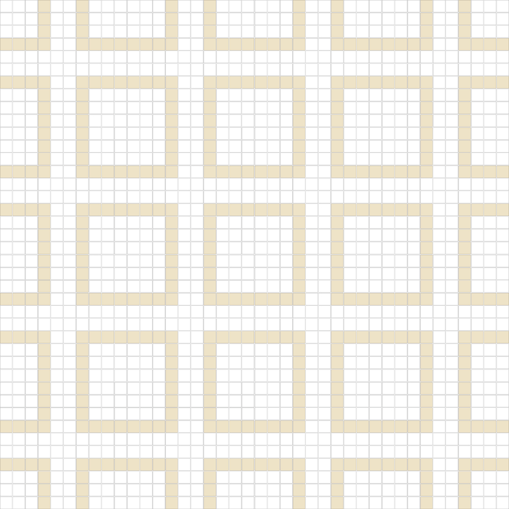 "Square 1""x1""  TMR-35 (16 sheets)"