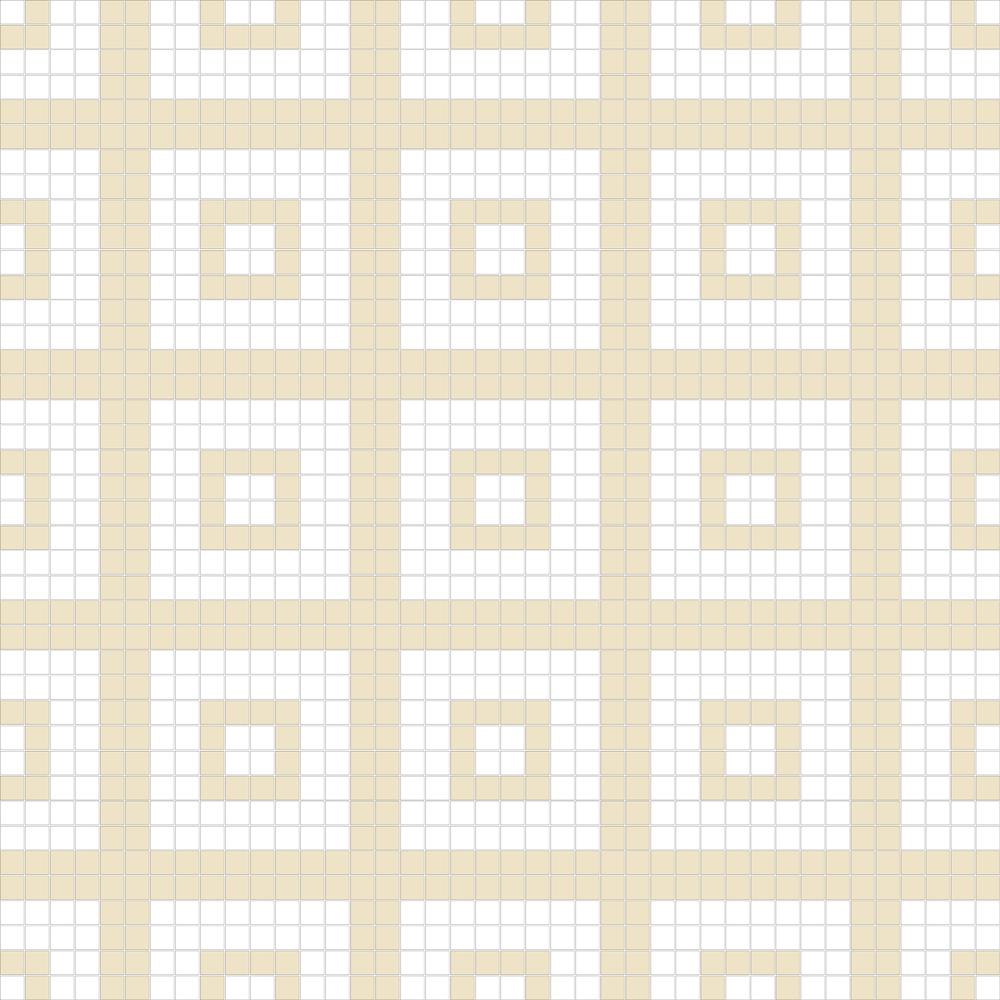 "Square 1""x1""  TMR-33 (16 sheets)"
