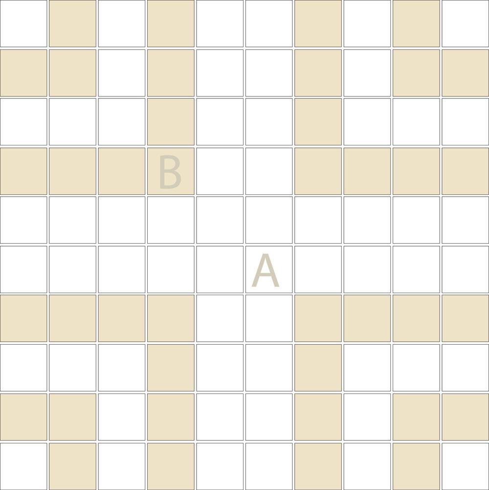 "Square 1""x1""  TMR-37 (1 sheet)"