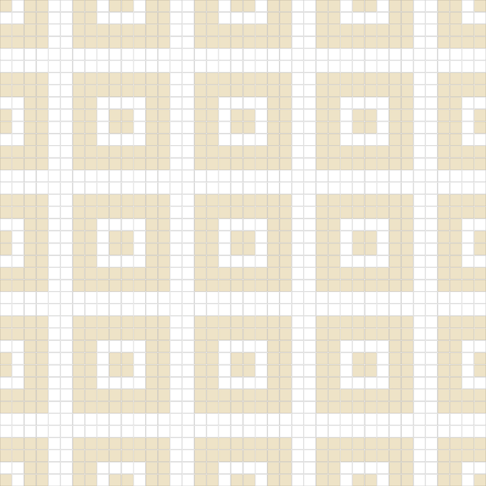 "Square 1""x1""  TMR-40 (16 sheets)"