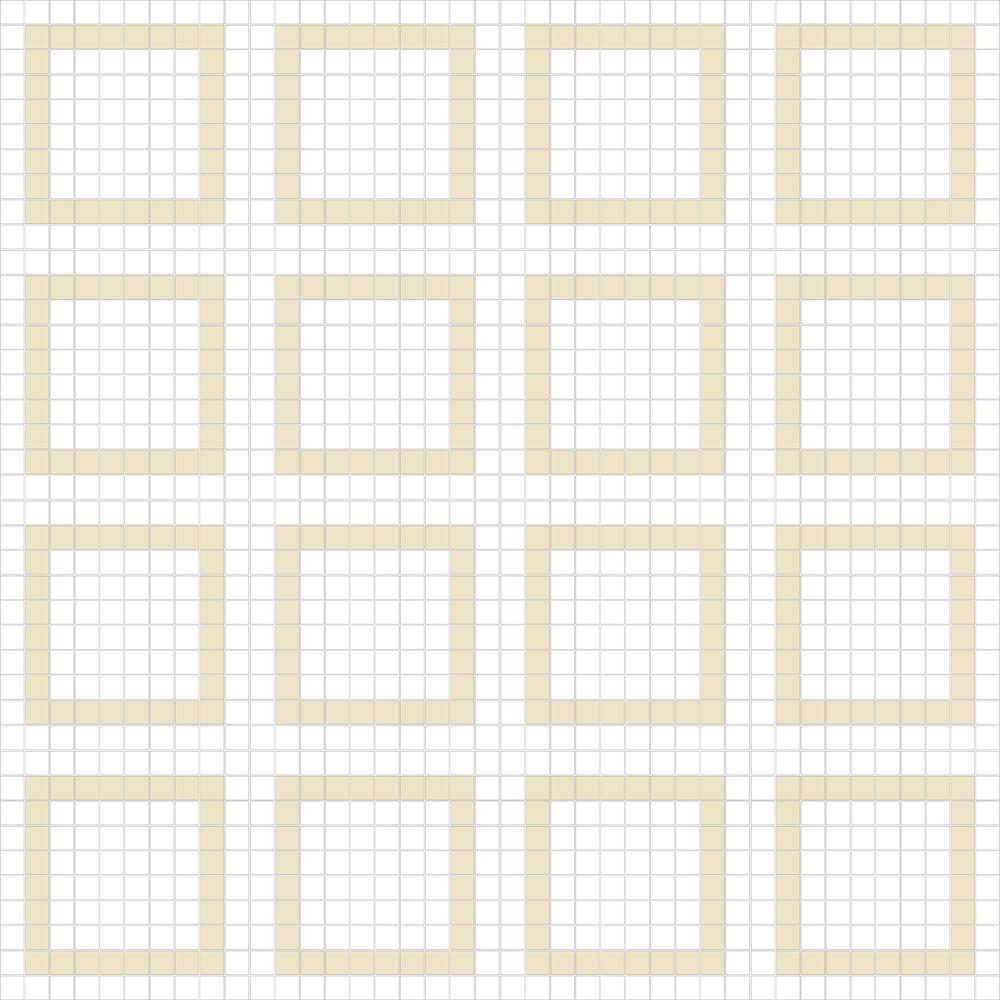 "Square 1""x1""  TMF-12 (16 sheets)"
