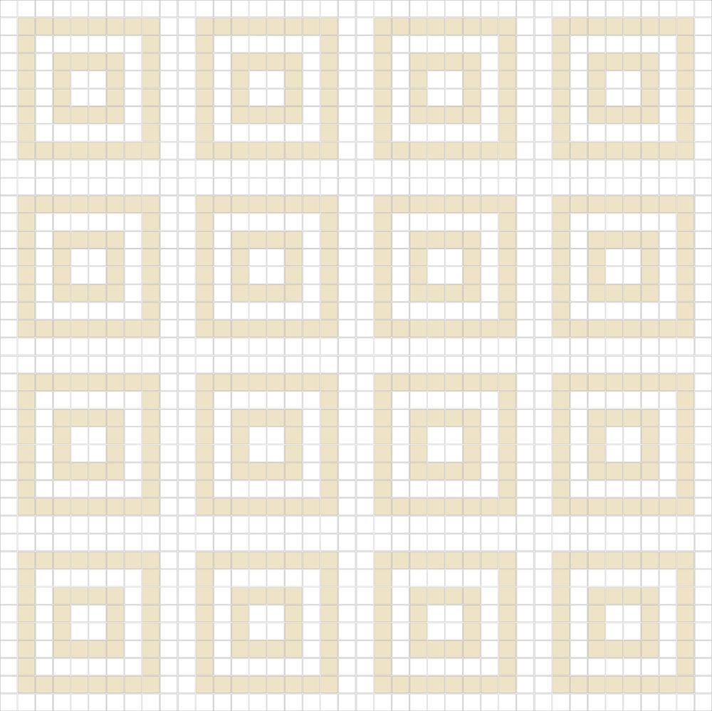 "Square 1""x1""  TMF-15 (16 sheets)"