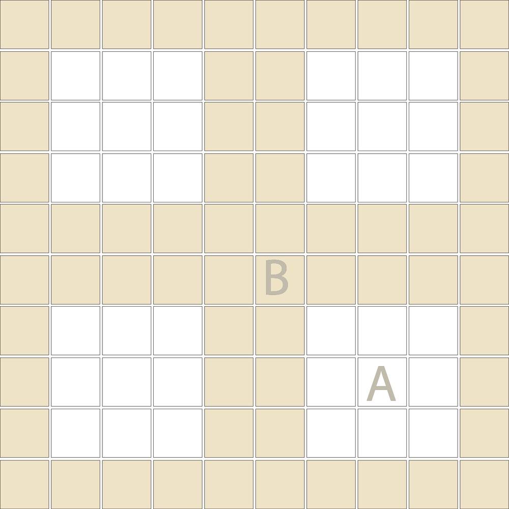 "Square 1""x1""  TMF-17 (1 sheet)"
