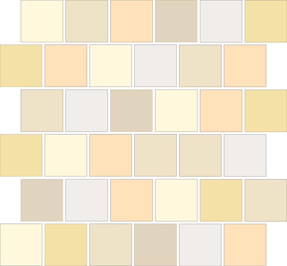 "TESSERA Handcrafted Mosaics  Multicolor - Random (3 to 9 colors)  Square2""x2"" BK-TMM   - Mesh Size (nominal): 12.5""x12.5"" - Coverage:36 pcs/mesh =1.09 SF/mesh = 0.92 mesh/SF"