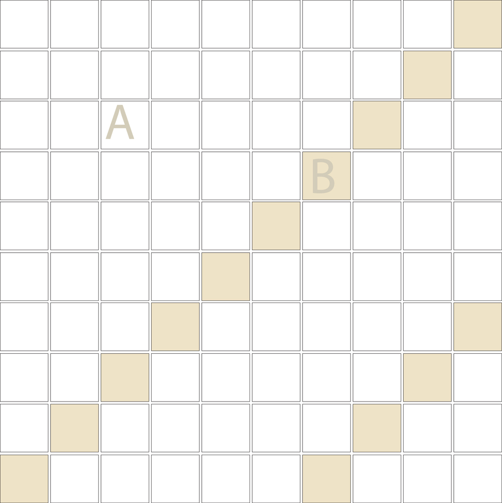 "Square 1""x1""  TMD-12 (1 sheet)"