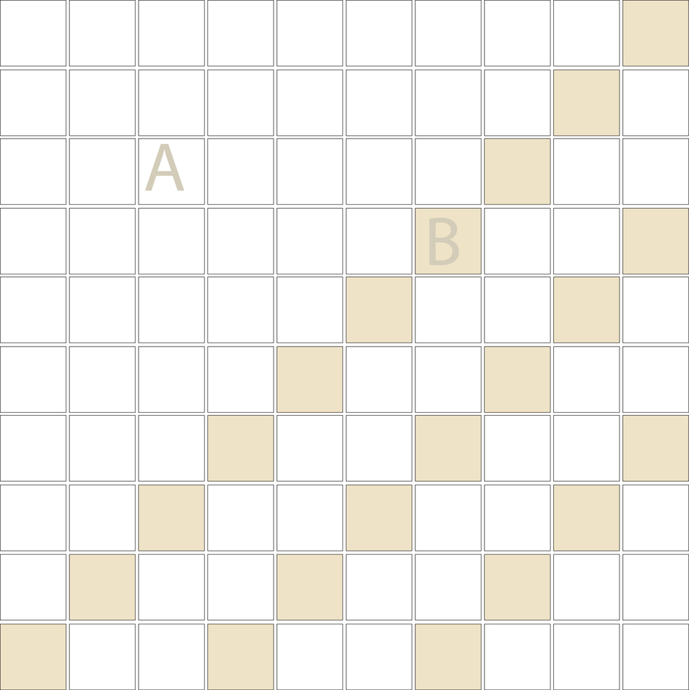"Square 1""x1""  TMD-13 (1 sheet)"
