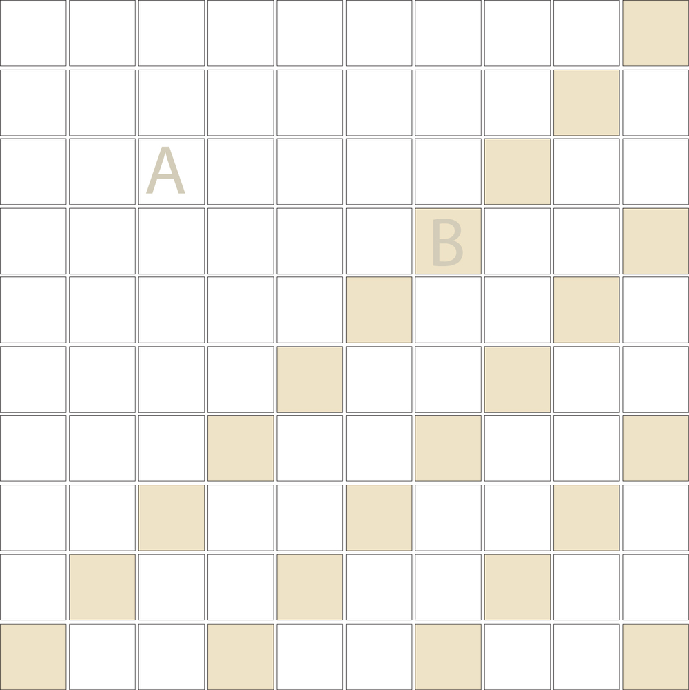 "Square 1""x1""  TMD-14 (1 sheet)"