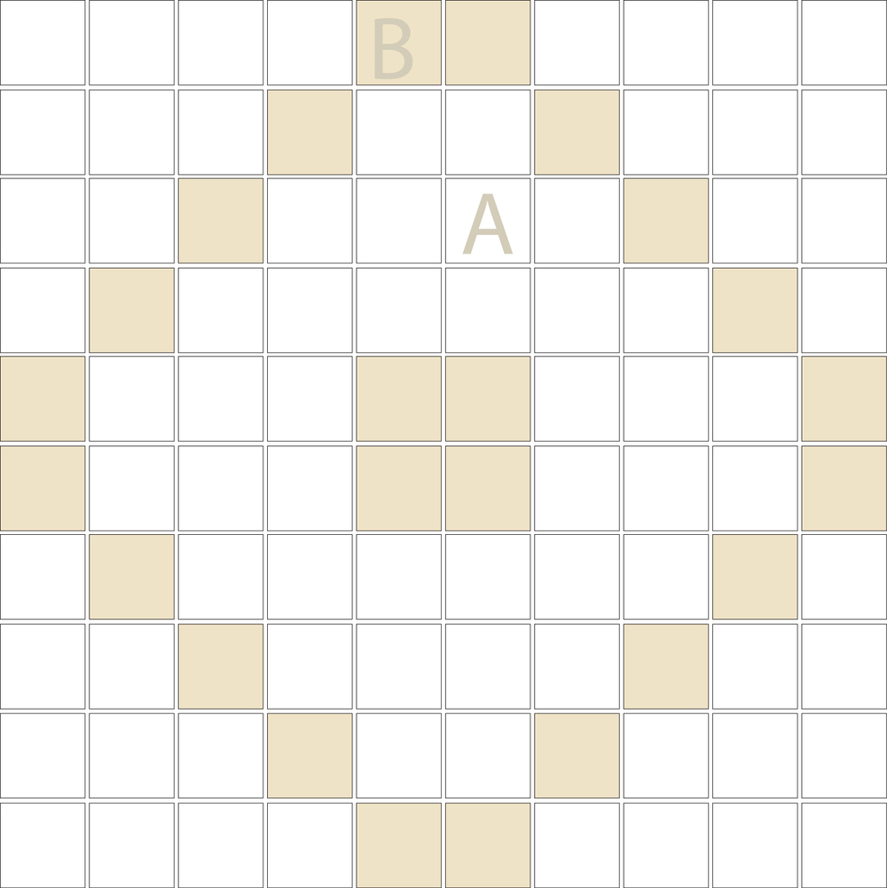 "Square 1""x1""  TMD-16 (1 sheet)"