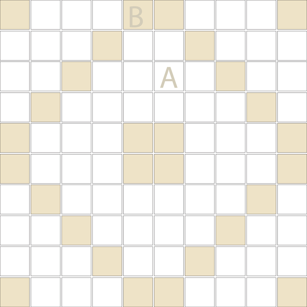"Square 1""x1""  TMD-17 (1 sheet)"