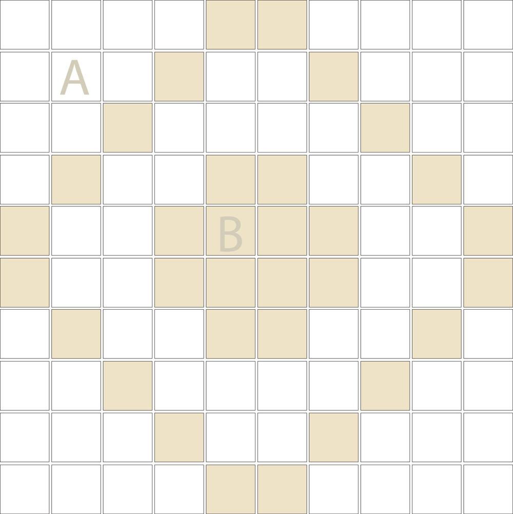 "Square 1""x1""  TMD-18 (1 sheet)"