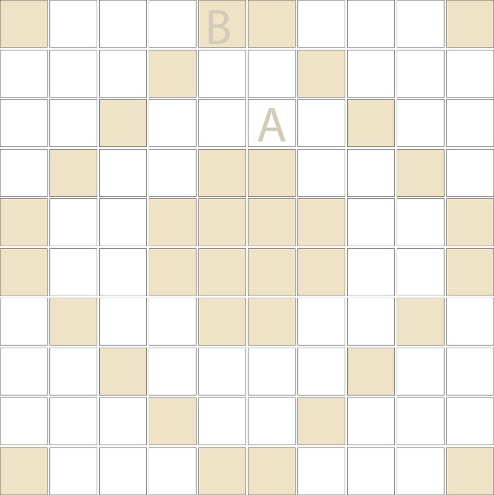 "Square 1""x1""  TMD-19 (1 sheet)"