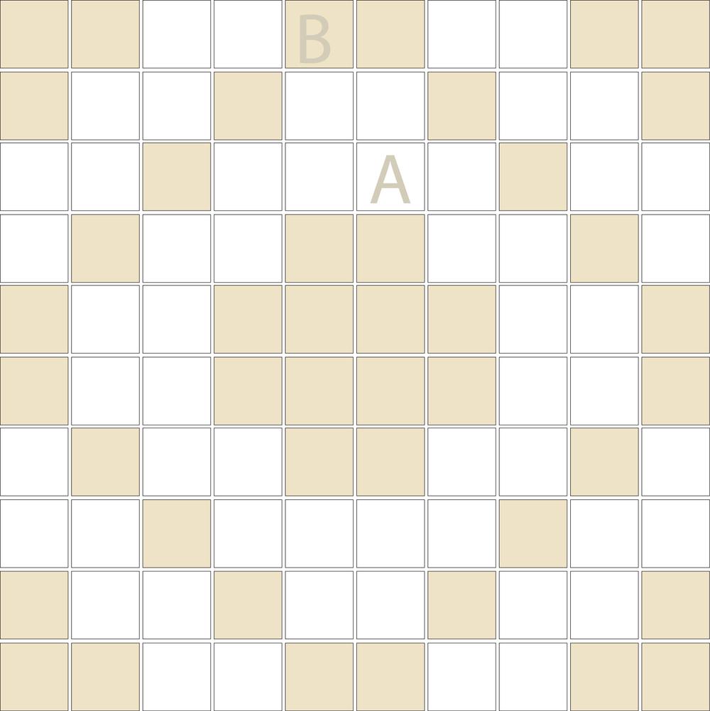 "Square 1""x1""  TMD-20 (1 sheet)"