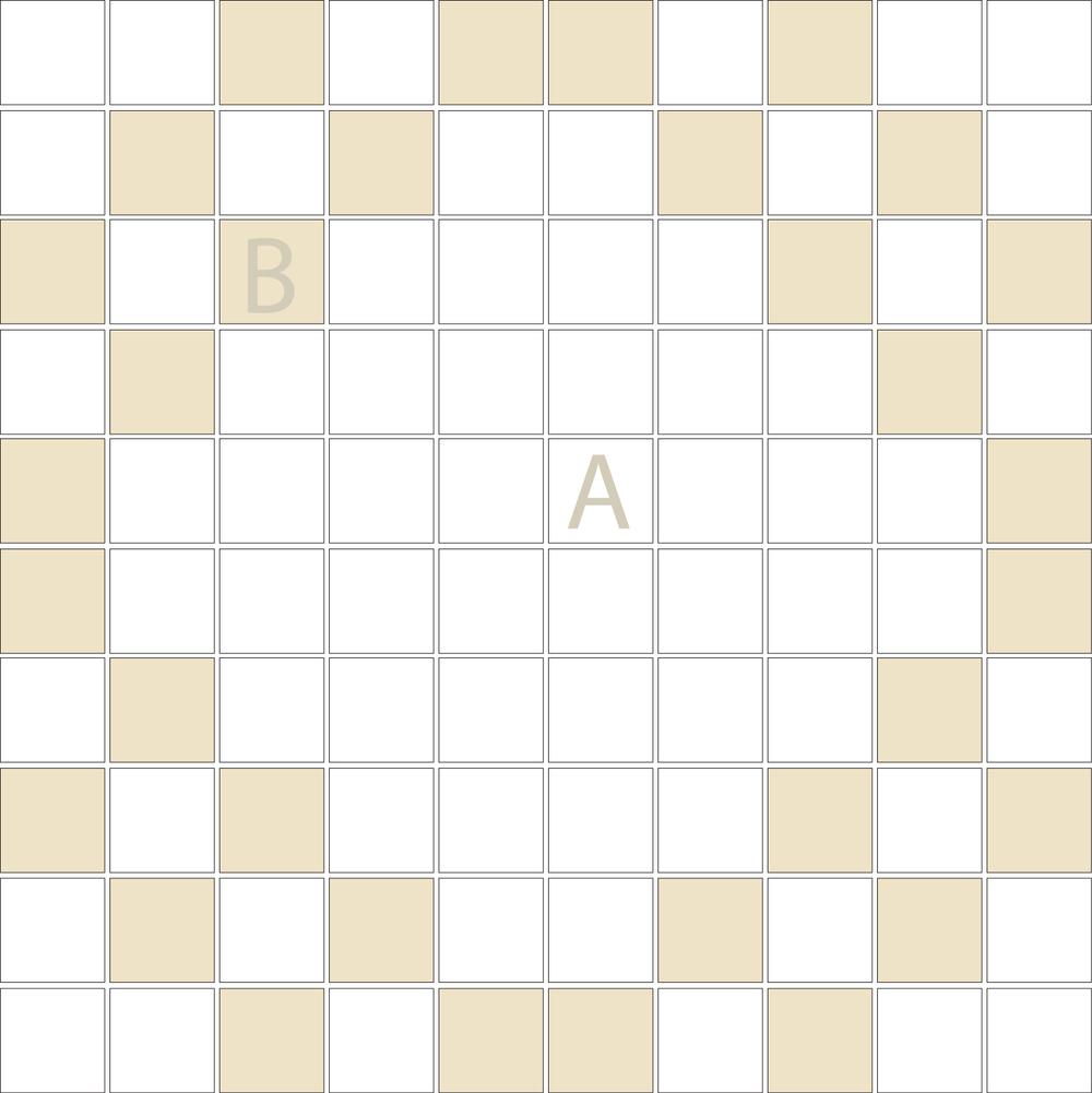 "Square 1""x1""  TMD-21 (1 sheet)"