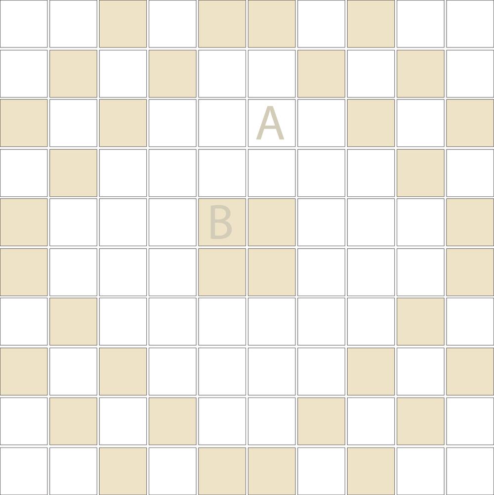 "Square 1""x1""  TMD-22 (1 sheet)"