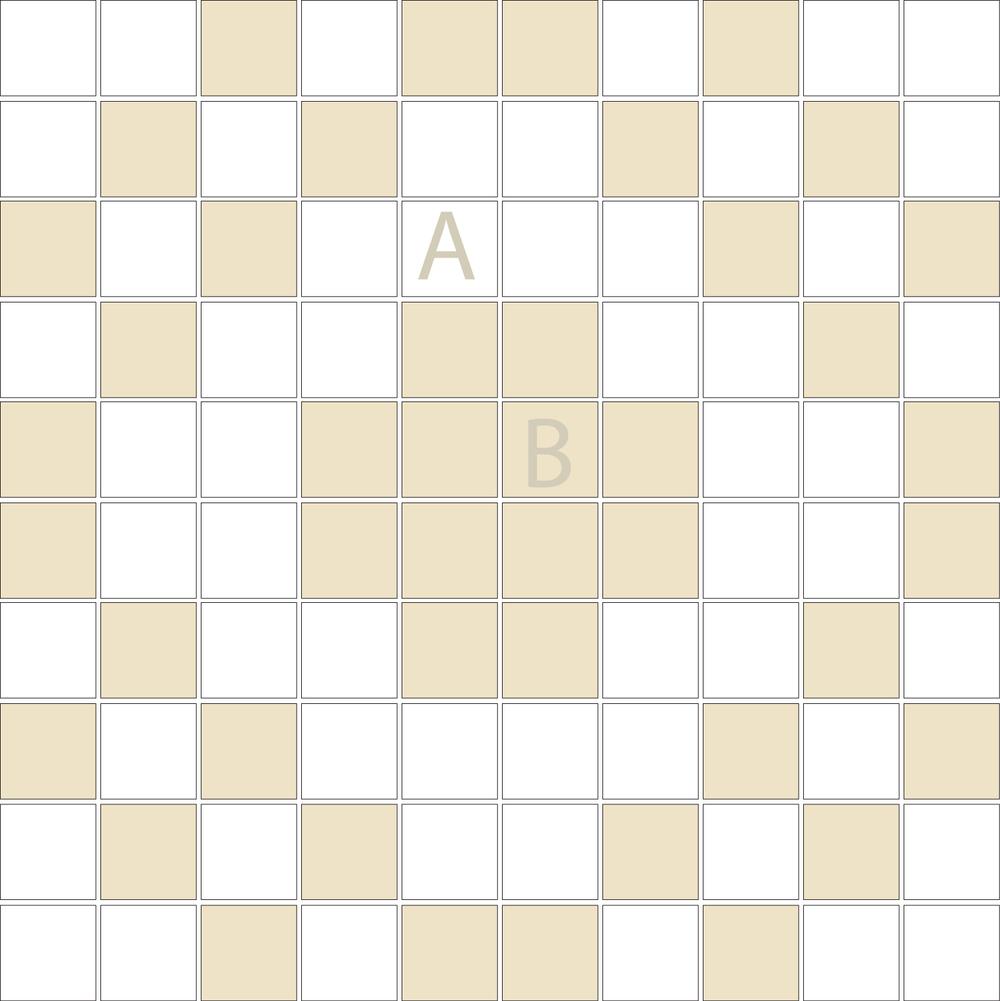 "Square 1""x1""  TMD-23 (1 sheet)"