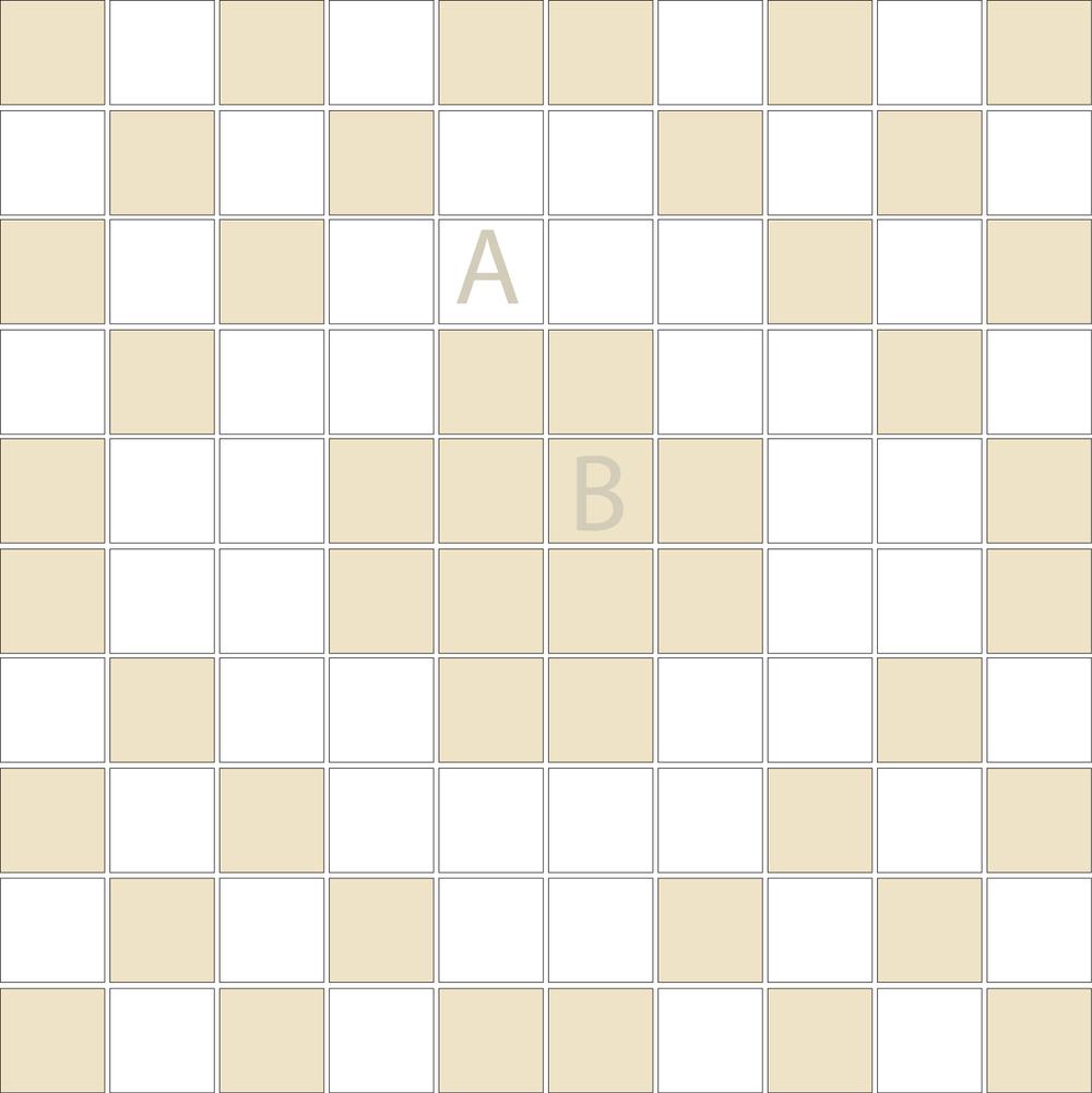 "Square 1""x1""  TMD-24 (1 sheet)"