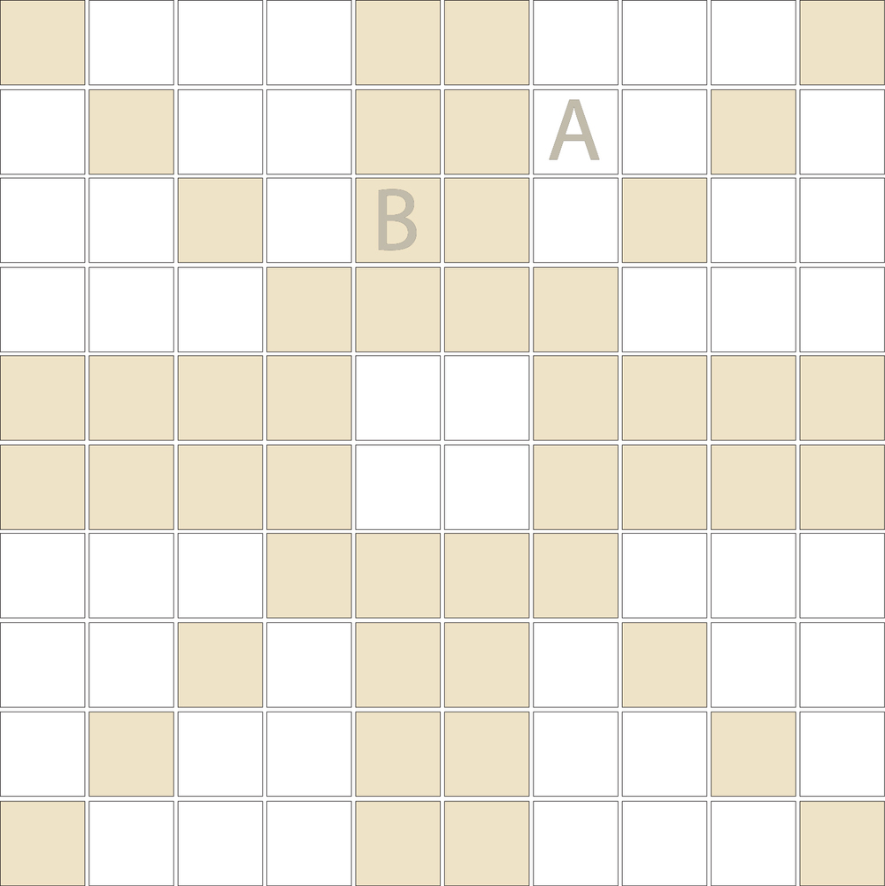 "Square 1""x1""  TMD-37 (1 sheet)"