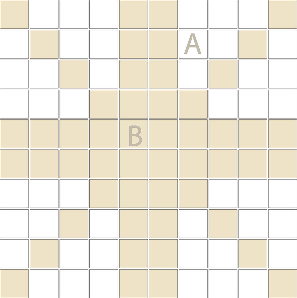 "Square 1""x1""  TMD-38 (1 sheet)"