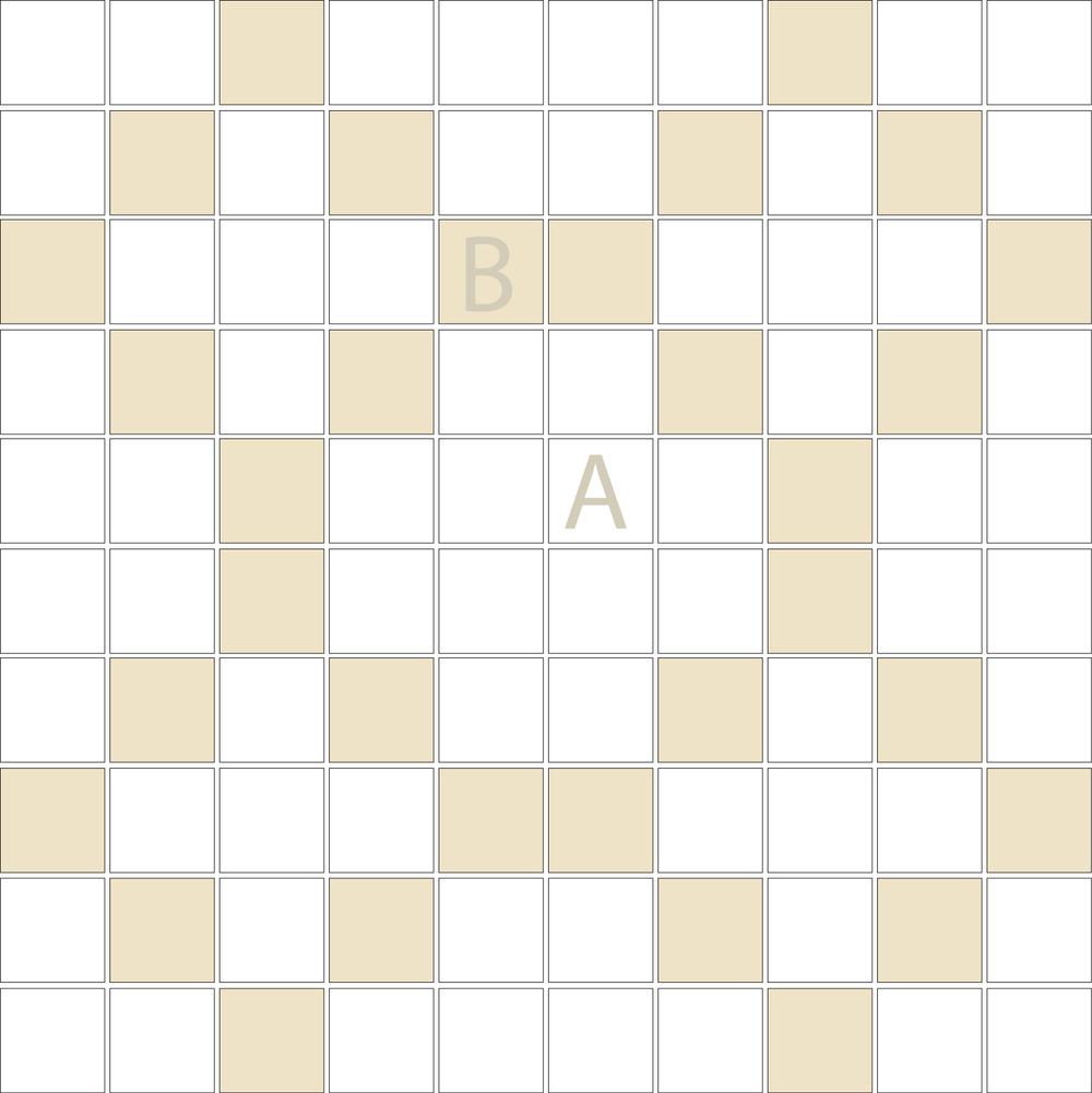 "Square 1""x1""  TMD-40 (1 sheet)"