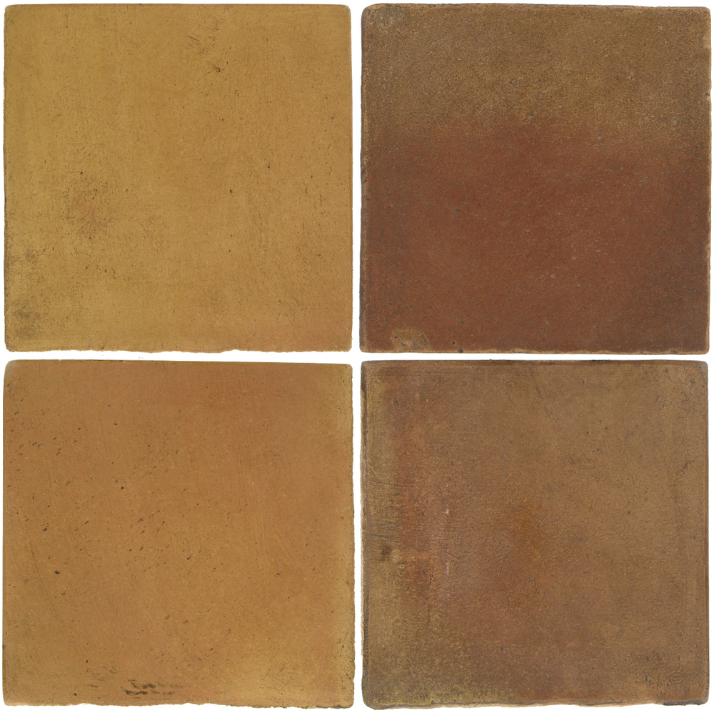Pedralbes Antique Terracotta  2 Color Combinations  OHS-PSSW Siena Wheat + OHS-PSCM Camel Brown