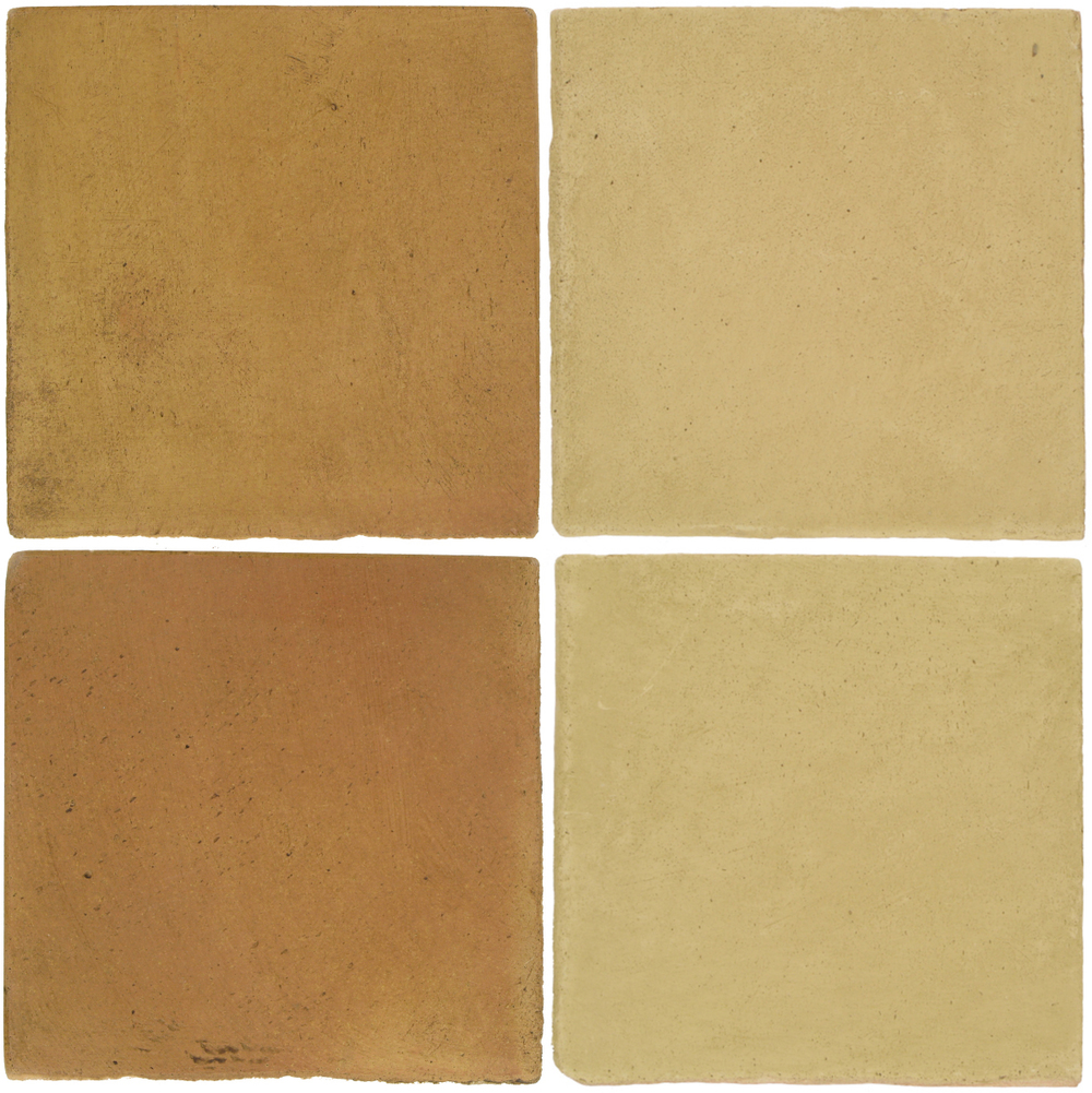 Pedralbes Antique Terracotta  2 Color Combinations  OHS-PSSW Siena Wheat + OHS-PGGW Golden W.