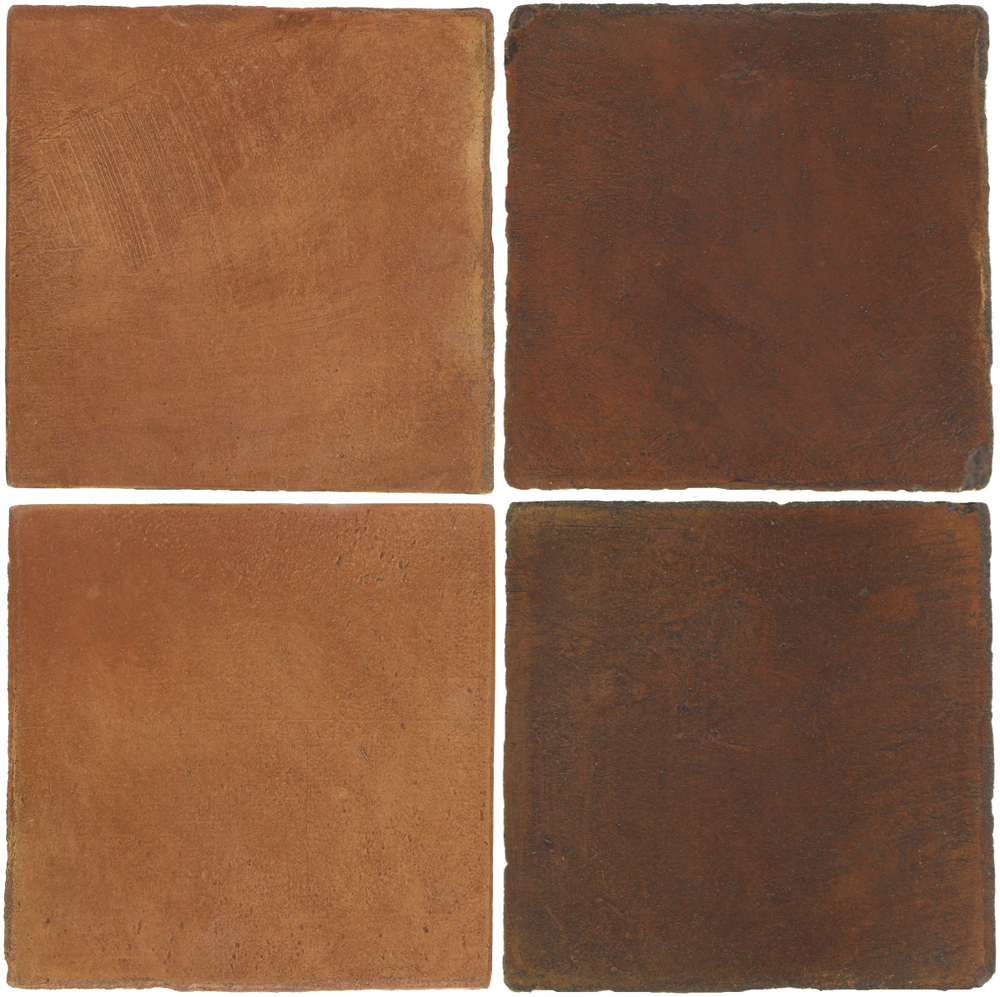 Pedralbes Antique Terracotta  2 Color Combinations  OHS-PSTR Traditional + OHS-PSOW Old World