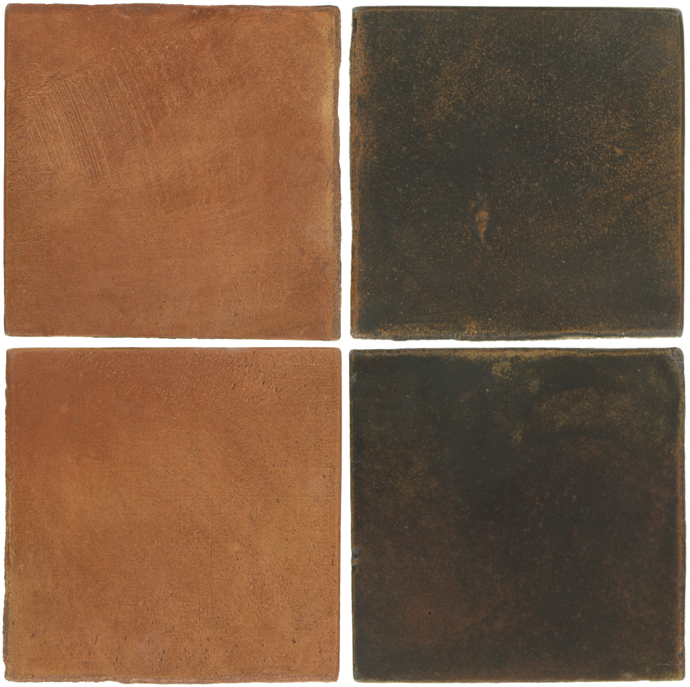 Pedralbes Antique Terracotta  2 Color Combinations  OHS-PSTR Traditional + OHS-PSCO Cologne Brown