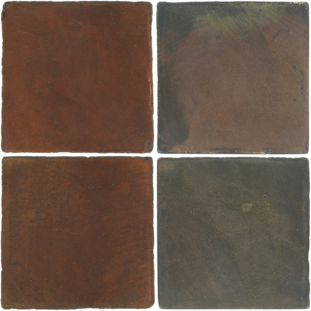 Pedralbes Antique Terracotta  2 Color Combinations  OHS-PSOW Old World + OHS-PSTG Terra Grey