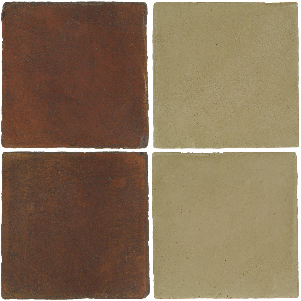Pedralbes Antique Terracotta  2 Color Combinations  OHS-PSOW Old World + OHS-PGDW Dirty W.