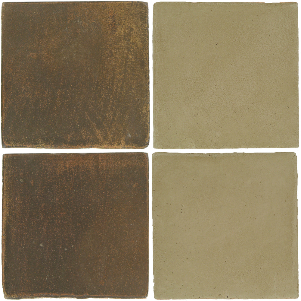 Pedralbes Antique Terracotta  2 Color Combinations  OHS-PSVN Verona Brown + OHS-PGDW Dirty W.