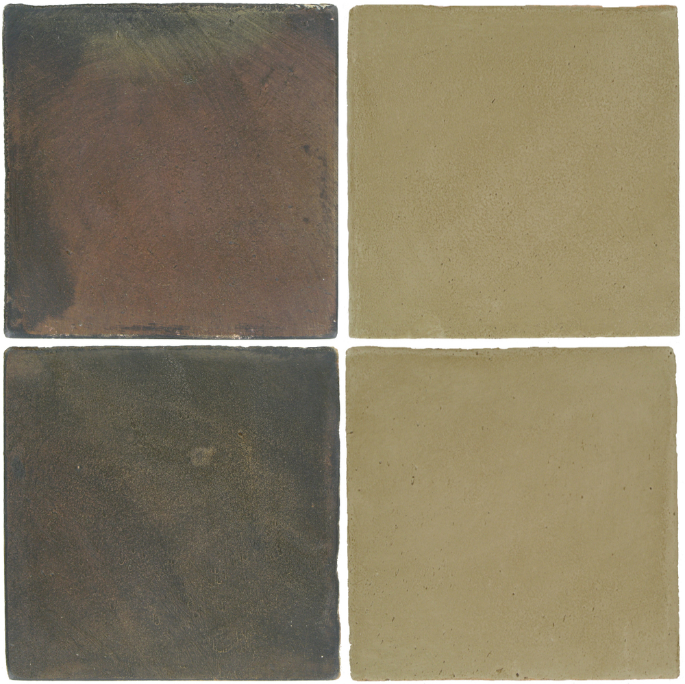 Pedralbes Antique Terracotta  2 Color Combinations  OHS-PSTG Terra Grey + OHS-PGDW Dirty W.