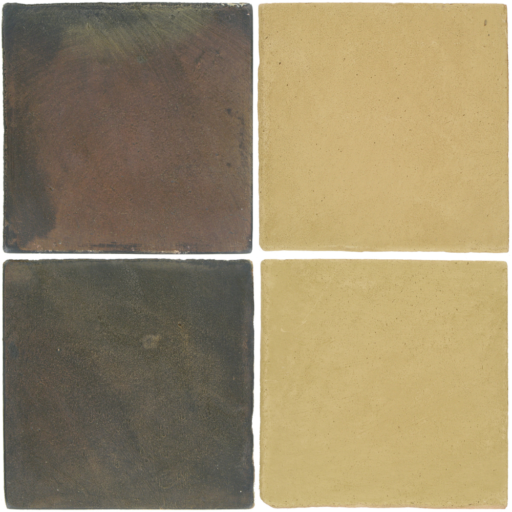Pedralbes Antique Terracotta  2 Color Combinations  OHS-PSTG Terra Grey + OHS-PGGW Golden W.