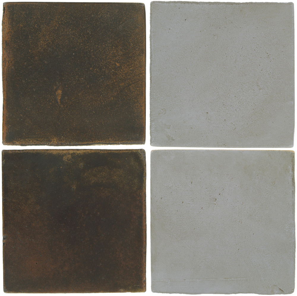 Pedralbes Antique Terracotta  2 Color Combinations  OHS-PSCO Cologne Brown + OHS-PGOG Oyster Grey