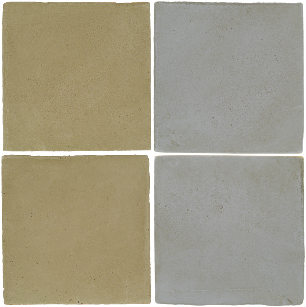 Pedralbes Antique Terracotta  2 Color Combinations  OHS-PGDW Dirty W. + OHS-PGOG Oyster Grey